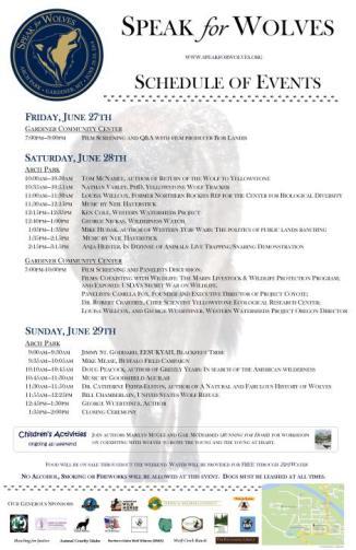Schedule_Poster_Speak for Wolves